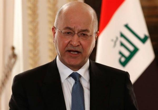 برهم صالح: امنیت منطقه در گرو امنیت عراق است