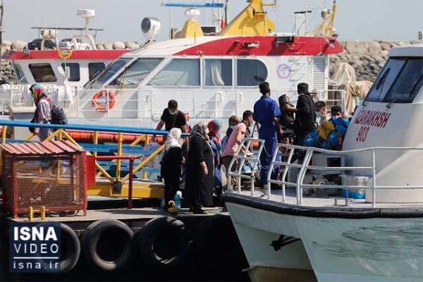 اجباری شدن تست کرونا برای سفرهای دریایی، هجوم مسافران کمتر شد