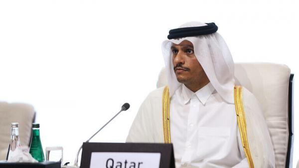 خبرنگاران وزیر امور خارجه قطر با ظریف ملاقات می نماید