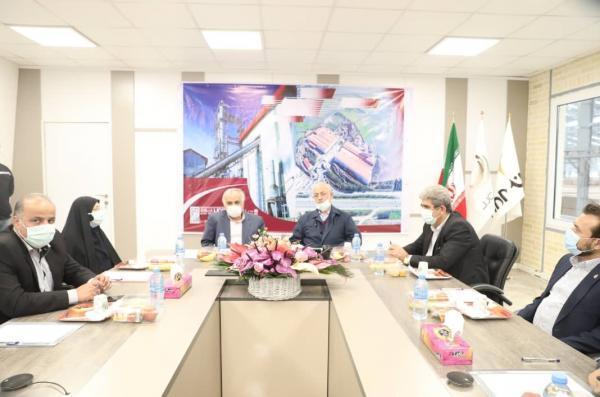 بازدید رییس کمیسیون صنایع مجلس شورای اسلامی ازبندر امیر آباد و شرکت تولیدی MDF