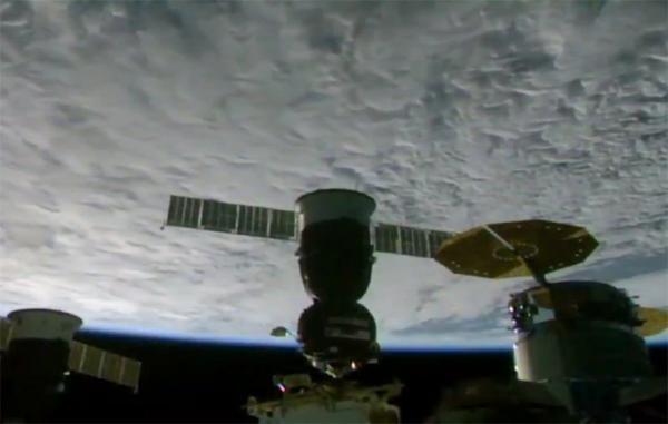 فضاپیمای یوری گاگارین به ایستگاه فضایی بین المللی پیوست