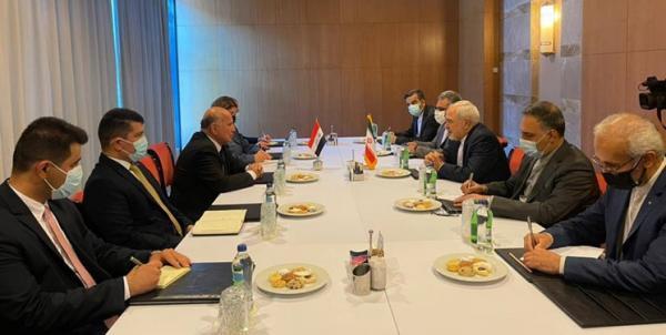 استقبال ظریف از شروع مذاکرات امنیتی منطقه ای در ملاقات همتای عراقی