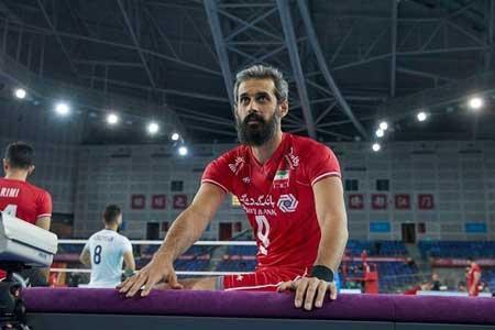 تغییر اضطراری در لیست تیم ملی والیبال ایران ، سعید معروف خط خورد