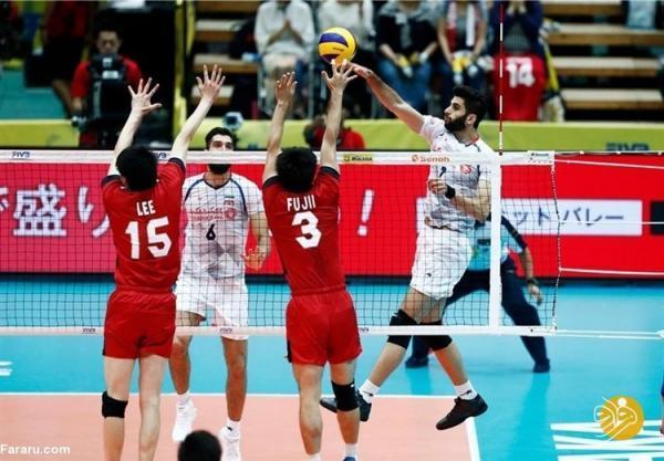 کار ایران در لیگ ملت های والیبال با باخت آغاز شد