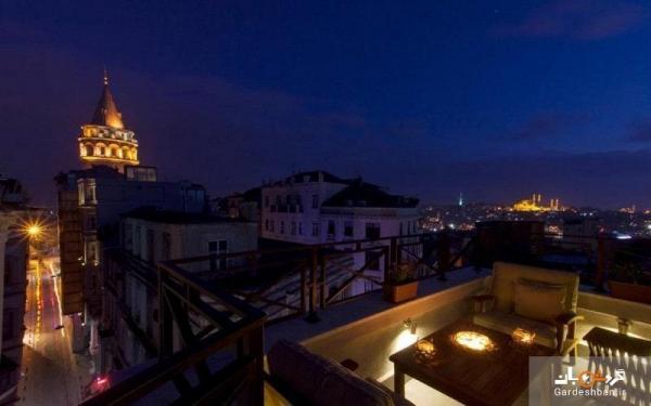 هتل آپارتمان لوئیس گالاتا؛هتلی 4 ستاره در منطقه گالاتای استانبول
