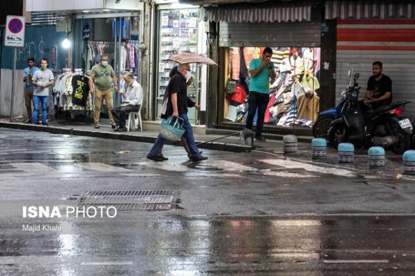تشدید رگبار باران و رعد و برق در آذربایجان شرقی