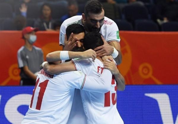 جام جهانی فوتسال، ایران با شکست آمریکا 6 امتیازی شد، شاگردان ناظم الشریعه صعودشان را قطعی کردند