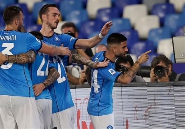 تور ارزان ایتالیا: سری A، ناپولی با کسب ششمین برد متوالی صدر جدول را از میلان پس گرفت