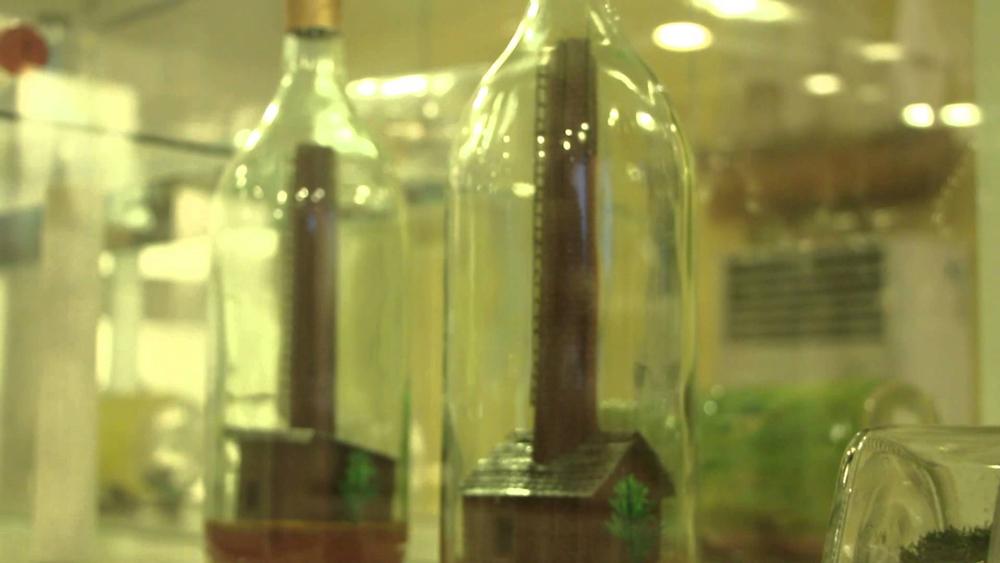 موزه بطری های شیشه ای در پاتایا