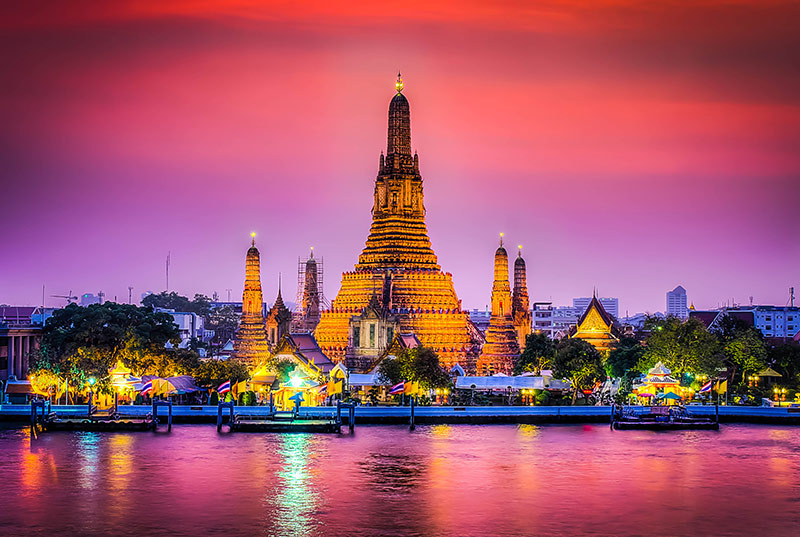 آشنایی با سفر به بانکوک