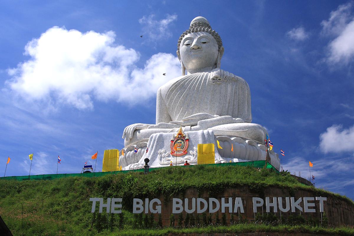 مجسمه بودای بزرگ در تور پوکت